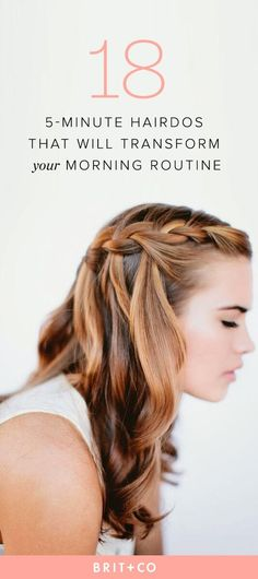 Save these quick + easy winter hair tutorials to make your morning routine efficient, yet glam.