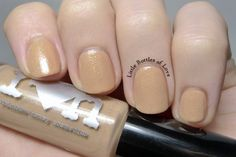 Rainbow Honey - Cafe Con Leche (mini) / Swatched on 4 fingers.