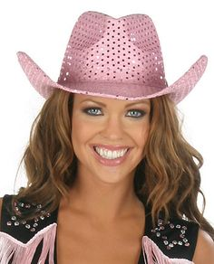 Pink Cowgirl Hat