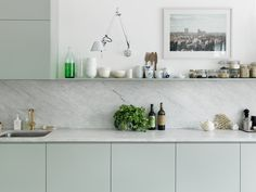 #dreamkitchen #color #marble Interior - Petra Bindel - Photographers - Agent Bauer
