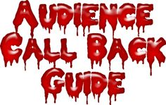 RHPS Audience Participation Guide for the Unconventional Conventionalists Rocky Horror Picture Show