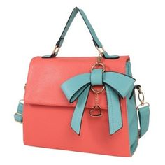 Sweet Bow and Checked Design Women's Tote BagBags   RoseGal.com