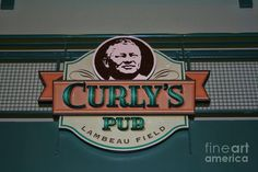 Curly's Pub--a must before we go to the game in a week and half!!!