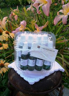 Freshening Spray Sampler Gift Set, handcrafted, all natural, vegan friendly…