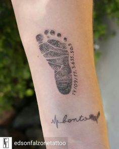 Tribute for son Benedict! Tattoo by Tribute for son Benedict! Name Tattoos For Moms, Baby Name Tattoos, Mommy Tattoos, Tattoos With Kids Names, Tattoo For Son, Tattoos For Daughters, Mini Tattoos, Cute Tattoos, Body Art Tattoos