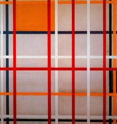 La ville de New York - (Piet Mondrian)