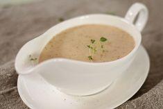 Kyllingsaus Gravy, Cheeseburger Chowder, Dips, Soup, Chicken, Dinner, Recipes, Dining, Salsa
