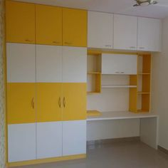 Wardrobe For Living room: asian Living room by Scale Inch Pvt. Wardrobe Laminate Design, Wall Wardrobe Design, Wardrobe Interior Design, Wardrobe Door Designs, Bedroom Closet Design, Kids Wardrobe, Study Table Designs, Study Room Design, Pooja Room Design