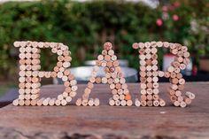 Wedding Gifts For Bride And Groom the cork bar sign handmade by bride and groom Wedding Signs, Diy Wedding, Wedding Gold, Wedding Table, Vino Color, Birthday Party Decorations, Wedding Decorations, Top Wedding Trends, Dubai Wedding