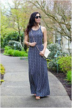 PAPERMOON Danyela Knit Maxi Dress + Street Level Juno Small Folded Clutch | Stitch Fix April Review | Stitch Fix Spring | Stitch Fix Reviews | Spring Style | Spring Fashion