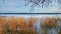 A February view of a lake. Denmark. Taken with Sony Xperia Z1 smartphone