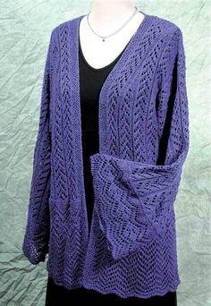 Fiddlesticks Knitting--Dorothy Siemens--Filigree Robe