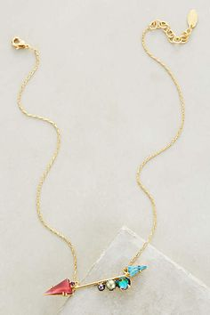 Bristol Arrow Necklace - anthropologie.com