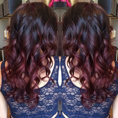 """Dark mahogany ombre."" Photo taken by @sweetmelissagrace on Instagram, pinned via the InstaPin iOS App! http://www.instapinapp.com (05/19/2015)"