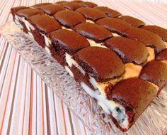 Banalnie proste ciacho a do tego bardzo smaczne. Składniki: ciasto: 5 jajek 220 g mąki pszennej 180 g cukru 1 łyżeczka pros...