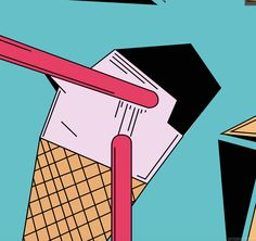 Some good ice cream :)   Come to Leeds print fair to get some fancy prints xx