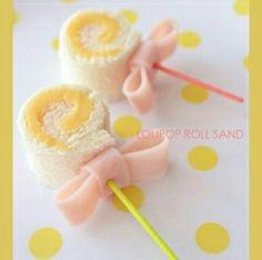 Lollipop sandwich.