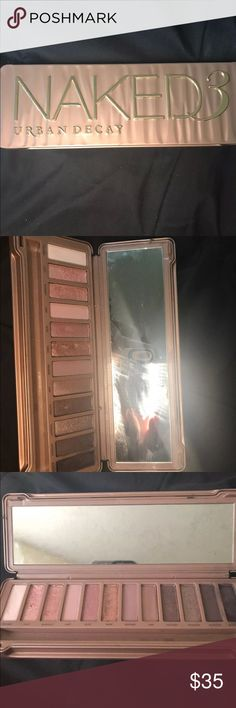 Urban Decay 3 Pallet Used twice and is still in good condition . Has way more than 90% of product and will include original brush . Urban Decay Makeup Eyeshadow