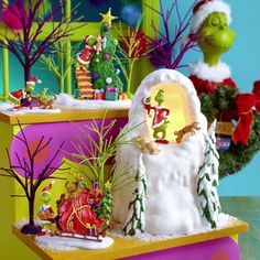 Grinch Village - It Takes Two, Grinch & Cindy-Lou | Department 56 Villages, Free Shipping on Dept 56