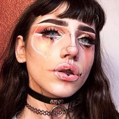 My art, but like on my face. Y'all really liked this look and I asked if u wanted me to post it, and I got an overwhelming amount of positive responses. So here it is. I love y'all (eyes are edited, bc some ppl were asking abt that.)