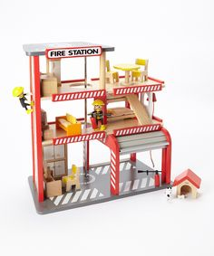 Five Alarm Firehouse & Accessories Toy Set