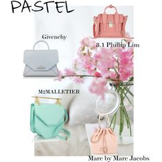 PASTEL 2015 by twentyonepercent21 on Polyvore featuring Givenchy, M2Malletier, 3.1 Phillip Lim and MARC BY MARC JACOBS