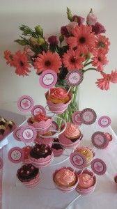 Cupcakes chá de bebê Anna e Alice
