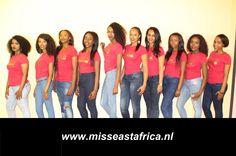 Groepsfoto Miss East Africa The Netherlands - Setember 2014