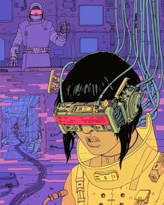 Josan Gonzales 'Behind the curtain, who pulls the strings?' #ghostintheshell #collab @ghostintheshell
