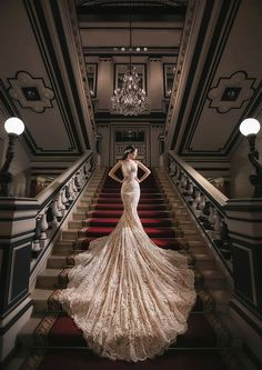 This Bride has impeccable style! Timelessly elegant bridal portrait with a hint…