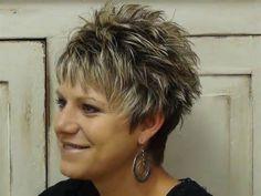 Coupe pour femme de 50 ans aux cheveux courts – cheveux femmes ...