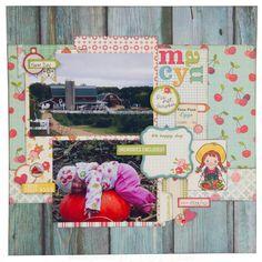 October Afternoon Farm Girl   Mid Week Mojo Rose #9