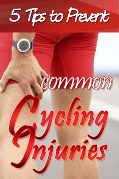 5 Tips to Prevent Common Cycling Injuries – Fitness And Exercises Cycling Motivation, Cycling Quotes, Cycling Tips, Cycling Workout, Cycling Art, Road Cycling, Bike Workouts, Motivation Wall, Swimming Workouts