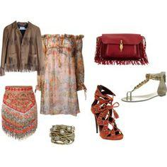 Bohemian Bohemian, My Style, Polyvore, Image, Fashion, Moda, Fashion Styles, Fashion Illustrations, Boho