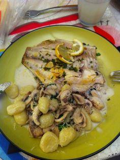 דג בתנור עם ניוקי