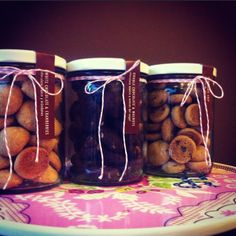 Mini cookies de Home Baked: chocolate Chip, Chocolate blanco & cranberries, chocolate & nueces