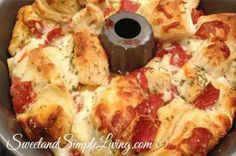 Quick and Easy Pizza Monkey Bread - Page 2 of 2 - Cool Home Recipes