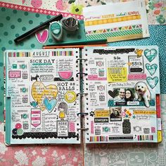 My newest #planner girl crush = @quirkyheart! Loving her style! (she also designed t... | Use Instagram online! Websta is the Best Instagram Web Viewer!