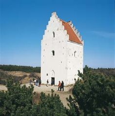 The Sanded church, Skagen, Denmark.