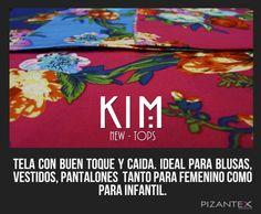 New Tops. Ref. Kim Diseños inovadores perfectos para esta temporada.