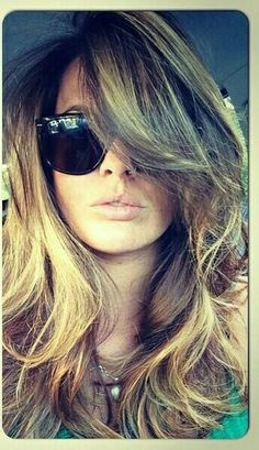Awesome style & color from Polyvore Bumble and Bumble blow dry