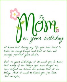Mother To Daughter Birthday Cards