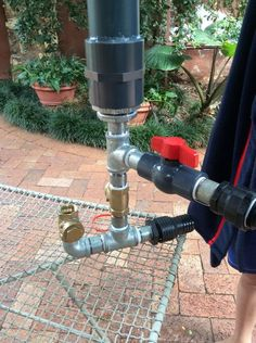 Water Ram Pump - free pumping using the power of pressure