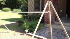 DIY Portable Camping Hammock Stand