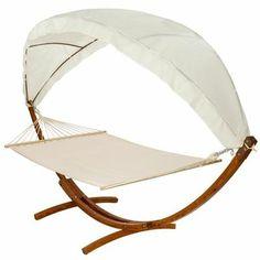 Hamac, Hamac avec support, Hamac 2 places, Hamac double XXL Support Bois de pin et Ombrelle 4 Mètres, Chaise longue TECTAKE New. • Seul ou à deux, ce hamac confortable est pro… Voir la présentation