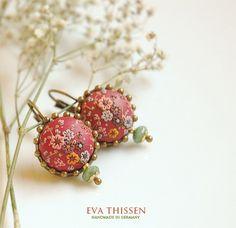 SALE  CHOCOLATE CHILLI handmade earrings von EvaThissen auf Etsy