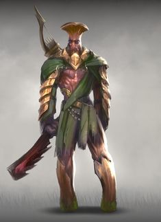ArtStation - Eugeny Bunin's submission on Ancient Civilizations: Lost & Found - Character Design