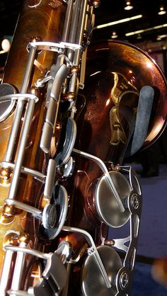 P Mauriat Saxophones at the NAMM Show   Flickr - Photo Sharing!