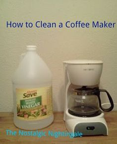 Coffee Maker Cleaner Recipe : 1000+ images about Homemade - Cleaning Products on Pinterest Liquid soap, Cleaning and ...