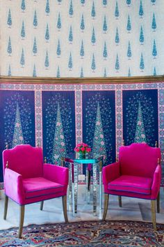 Rajmahal Palace is one of the oldest and most treasured properties in the 'Pink City' of Jaipur. Blue Rooms, Room Chairs, Pink Chairs, Velvet Chairs, Interior Design Inspiration, Indian Interior Design, Asian Interior, Retail Interior, Luxury Interior